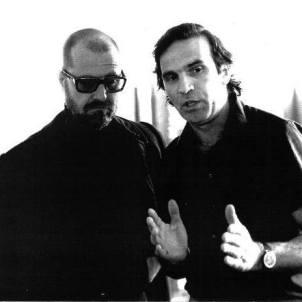 Renato Volpini with Michelangelo Pistoletto