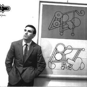 Renato Volpini during an exhibition