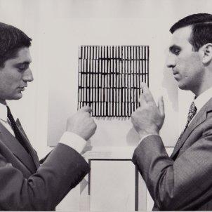 Renato Volpini with Gianni Colombo
