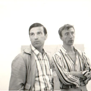 Renato Volpini with Bonalumi
